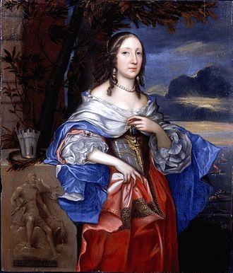Elizabeth Claypole - Elizabeth Claypole, by John Michael Wright.