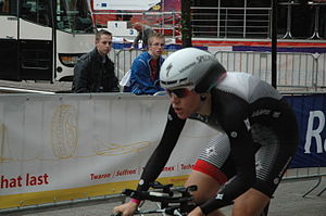 2012 Dutch National Time Trial Championships – Women's time trial - Ellen van Dijk riding to victory