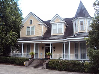 National Register of Historic Places listings in Lafayette Parish, Louisiana - Image: Elrose, Lafayette, LA