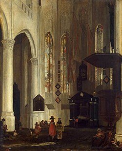 Emanuel de Witte - Old Church in Delft - WGA25808.jpg