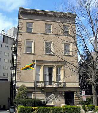 Foreign relations of Jamaica - Embassy of Jamaica in Washington, D.C.