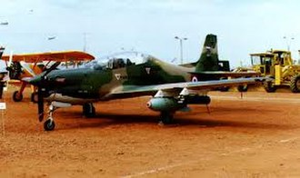 Armed Forces of Paraguay - A Paraguayan Embraer EMB 312 Tucano