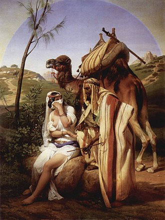 Judah (son of Jacob) - Judah and Tamar, Horace Vernet