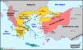 Empèri Bizantin - Partiment après la Quatrena Crosada.png