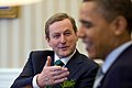 Enda Kenny with Barack Obama White House 2011.jpg