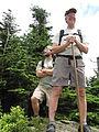 Enjoying a vista. Cattail Peak hike, June, 2010 (4703849476).jpg