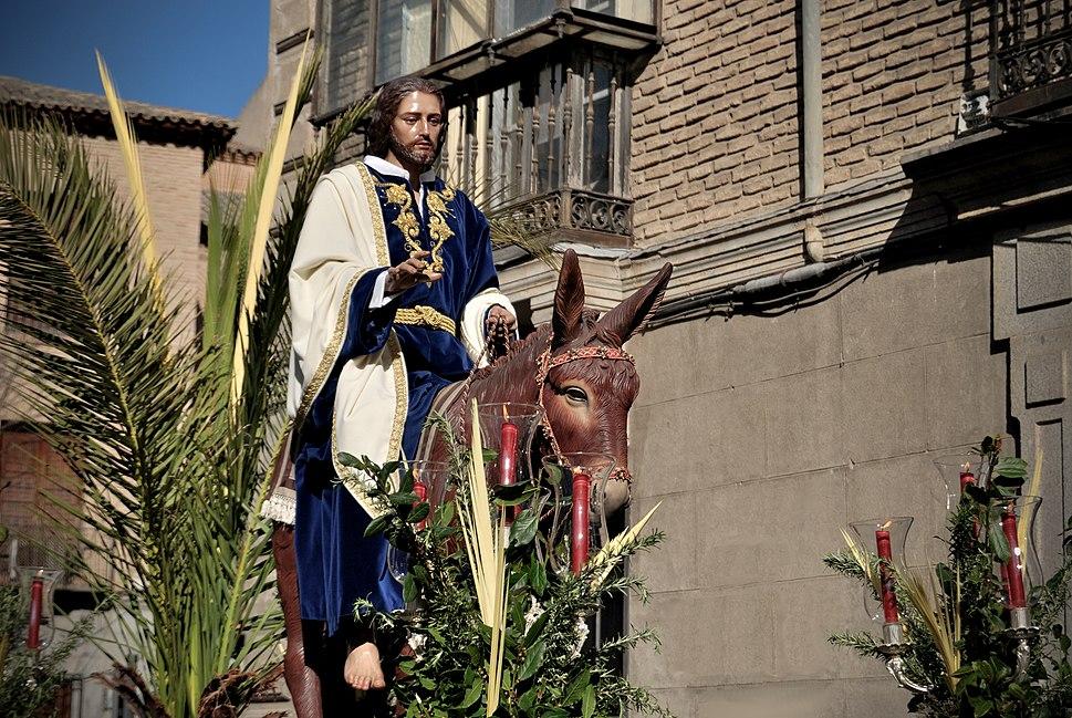 Entrada de Jesús en Jerusalén - Toledo, España - 2010