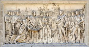 Louis-Pierre Deseine - Entry to Vienna, bas-relief at the Arc de Triomphe du Carrousel, Paris