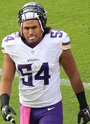 Eric Kendricks - Kendricks with the Vikings in 2015