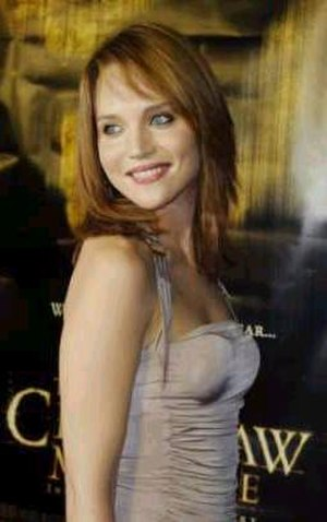 Erica Leerhsen - Leerhsen at the 2003 The Texas Chainsaw Massacre premiere.