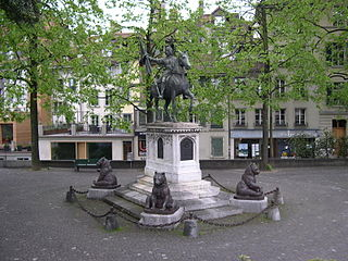 Erlach memorial