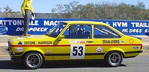 1979 Hardie-Ferodo 1000 - Harrison/Cutchie Ford Escort