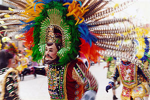 """Carnival in Mexico - """"Huehue"""" from Tlacuilohcan, Tlaxcala"""