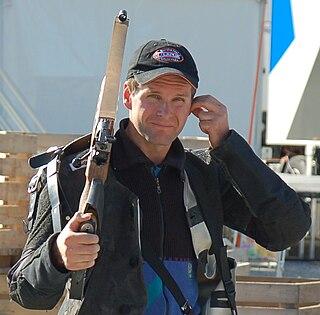 Espen Berg-Knutsen Olympic rifle shooter
