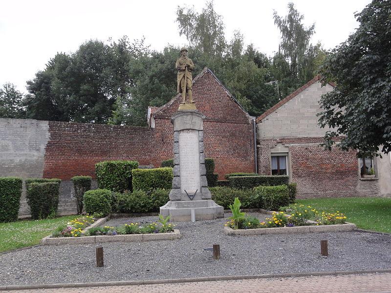 Essigny-le-Petit (Aisne) monument aux morts