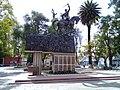 Estatua ecuestre a Francisco Pérez de Uriondo lateral.jpg