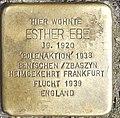 Esther Ebe, Eckenheimer Landstr. 84 (Frankfurt am Main- Nordend).jpg