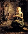 Evert Pieters A Child Peeling Potatoes.jpg