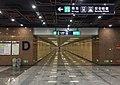 Exit D interface of Wenyanglu Station (20170707144716).jpg
