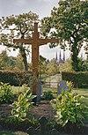 exterieur begraafplaats met achterzijde kruis - berkel-enschot - 20001219 - rce