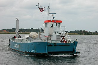 Hjarnø - Hjarnø ferry