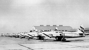 188th Rescue Squadron - F-80C Shooting Star fighters from the 188th Fighter Squadron