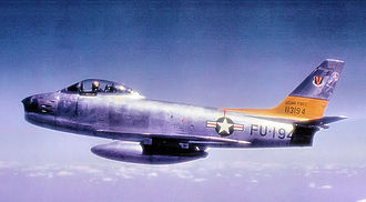 527th Space Aggressor Squadron - F-86Fs of the 527th Fighter-Bomber Squadron - 86th FBW - Landstuhl AB, West Germany