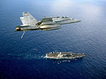 F-A-18C Hornet Above USS Ronald Reagan DVIDS128265.jpg