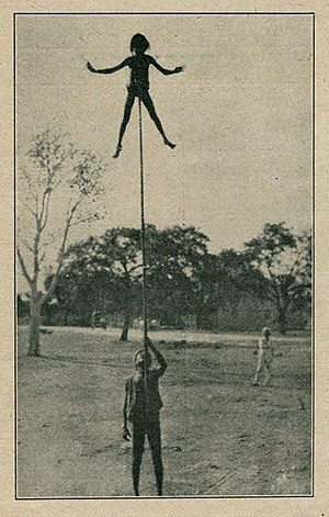 Indian rope trick - Image: F. W. Holmes Indian rope trick