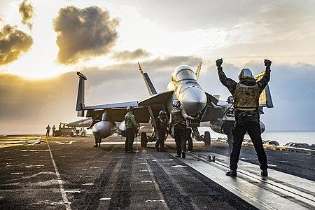 F18 aboard USS Carl Vinson