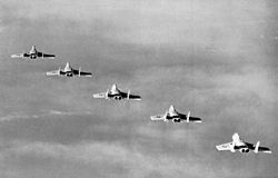F7U-3M Cutlasses of VA-116 in flight in 1957.jpg