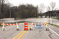 FEMA - 34717 - Road closed sign and barricades in West Memphis, AR.jpg