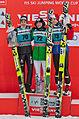FIS Ski Jumping World Cup 2014 - Engelberg - 20141221 - Ammann, Koudelka, Hayboeck 1.jpg
