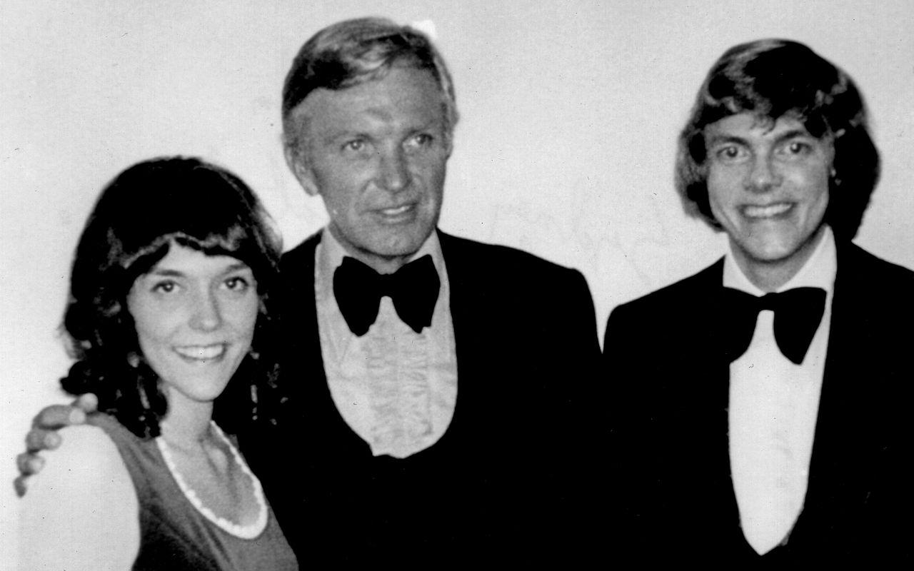 Frank Pooler with Richard & Karen Carpenter