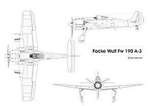 フォッケウルフ Fw190の画像 p1_1