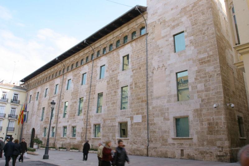 File:Façana de Les Corts del País Valencià 2.jpg