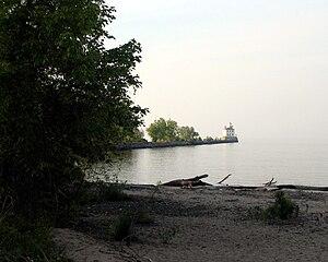 Fairport Harbor, Ohio - Image: Fairport Harbor West Breakwater Light 2