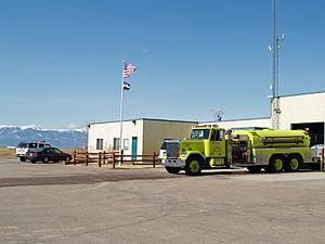 Falcon, Colorado - The fire station