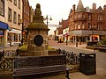 Falkirk, the Cross Well in the marketplace - geograph.org.uk - 1540538.jpg