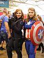 Fan Expo Canada 2016 Black Widow and Captain America DSCF1297.jpg