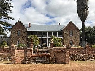 Faversham House Heritage listed residence in York, Western Australia