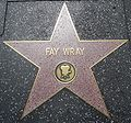 Fay Wray's star on HWF.JPG
