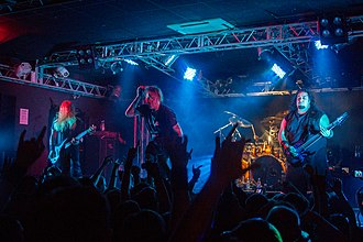 American metal band Fear Factory in Saint Petersburg. Fear Factory in Saint Petersburg 2013-7.jpg