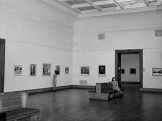 Montreal Museum of Fine Arts - Interior in 1948