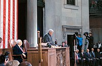 Federal Hall Sep 6 2002 Hastert Cheney
