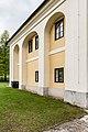 Feldkirchen Dietrichstein 1 Schloss Ost-Seite Rundbogennischen 13042017 7504.jpg