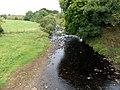 Fenwick Water upstream from Bruntland Bridge, Waterside, East Ayrshire.jpg