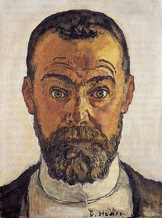 Ferdinand Hodler - Self-portrait, 1912