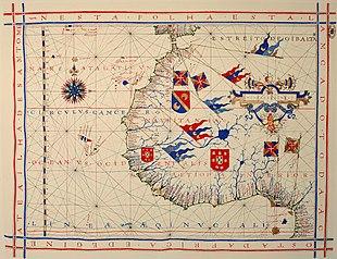 Cartina del 1571