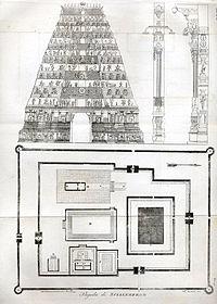 pagoda di scialembrom chidambaram by giulio ferrario from il